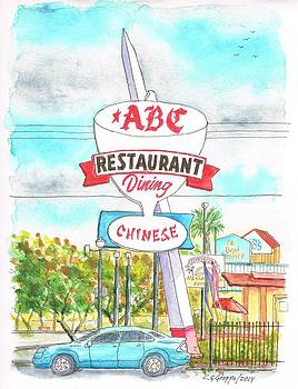 ABC Restaurant in Route 66 Andy Devine Ave - Kingman - Arizona by Carlos G Groppa