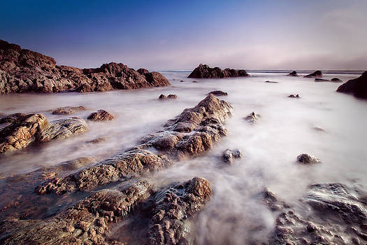 Aberffraw fog by Beverly Cash