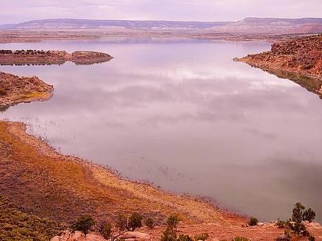 Abiquiu Lake NM by Daria Yesieva-Kartsinski