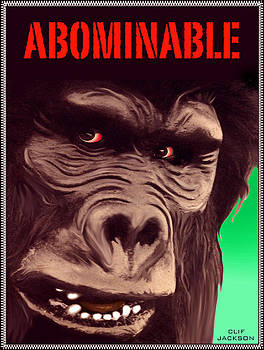 Abominable Big Foot Creature by Clif Jackson