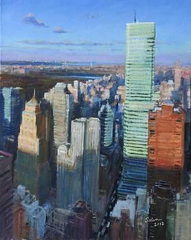 Above Lexington Avenue by Peter Salwen