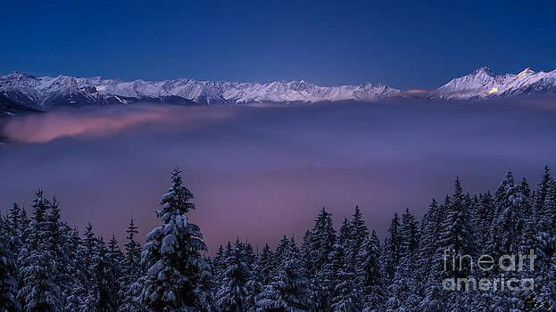 Above the clouds by Florian Mauerhofer