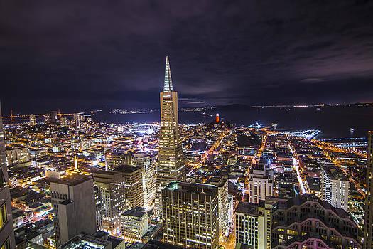 Above the San Francisco Skyline by Brandon McClintock