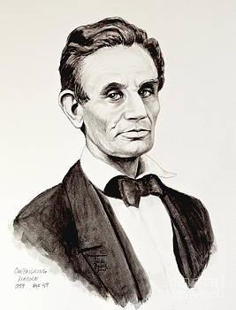 Art By - Ti   Tolpo Bader - Abraham Lincoln at 49