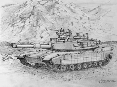 Jim Hubbard - Abrams M1 Tank