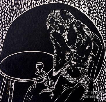 Caroline Street - Absinthe Drinker after Picasso