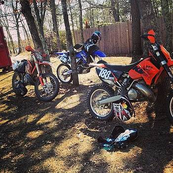 Absolute Perfect Day Of Riding #yamaha by Tom Thibeault