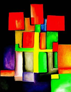 Abstract 0.4 by Frank B Shaner