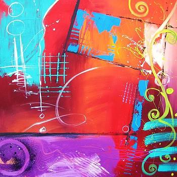 Abstract 110-6 by Gino Savarino