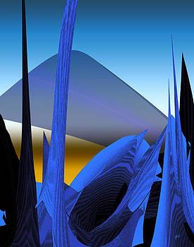 Abstract 200 by Gerlinde Keating - Galleria GK Keating Associates Inc