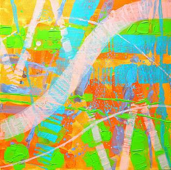 Abstract 23614  Diptych  II by John  Nolan