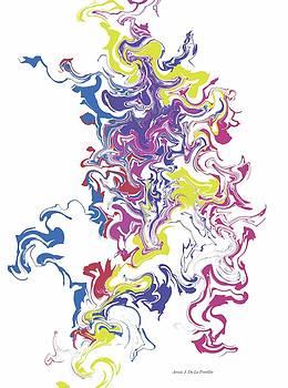 Abstract 3 by Jessie J De La Portillo