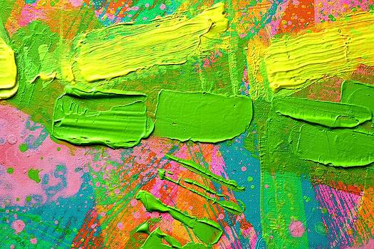 Abstract 6814 Diptych cropped I by John  Nolan