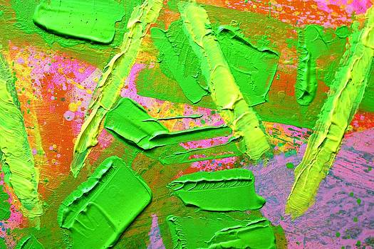 abstract 6814 Diptych Cropped II by John  Nolan