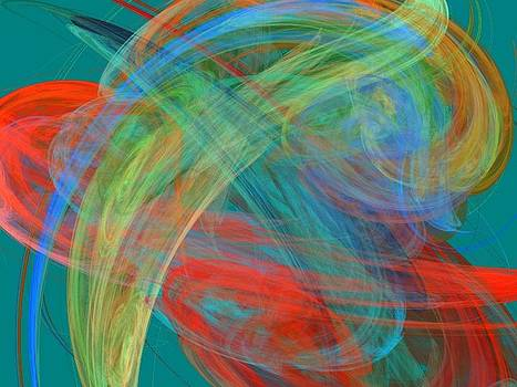 Abstract 91 by Sandra Conceicao