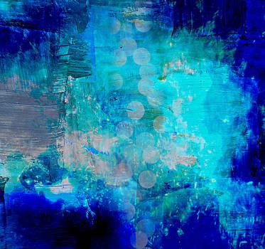 Abstract Blue by Alma Yamazaki