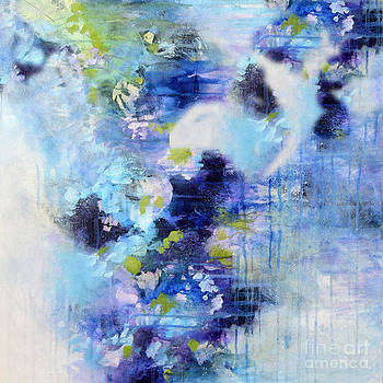Abstract Blues by Tracy-Ann Marrison