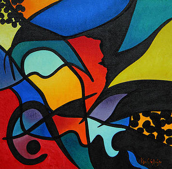 Abstract C by Ken Caffey