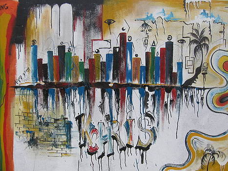 Abstract City Life by Kchris Osuji