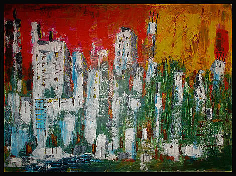 Abstract City by Zeke Nord