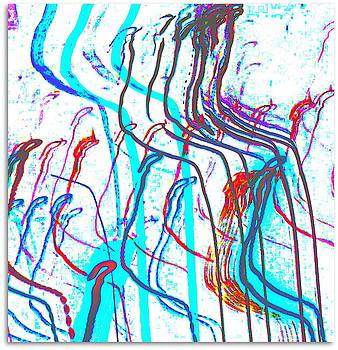 Abstract Digital Art by Barb Montanye Meseroll