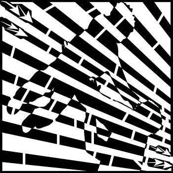 Yonatan Frimer Maze Artist - Abstract Distortion Childhood Joy Maze