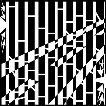 Yonatan Frimer Maze Artist - Abstract Distortion Driving Road Maze