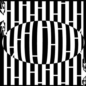 Yonatan Frimer Maze Artist - Abstract Distortion Egg Disturbance Maze
