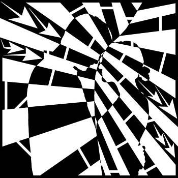 Yonatan Frimer Maze Artist - Abstract Distortion Human Touch Maze
