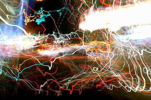 Abstract Drunken Night by Jaakko Saari