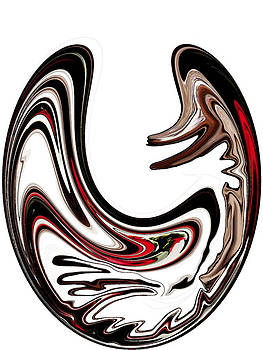 Abstract Duck by Ella Char