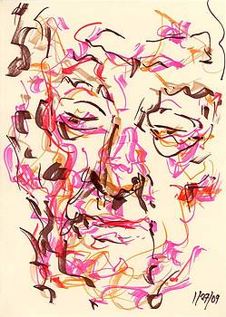 Rachel Scott - Abstract Face