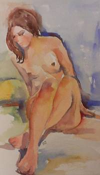 Abstract figure no. 2 by Janet Butler