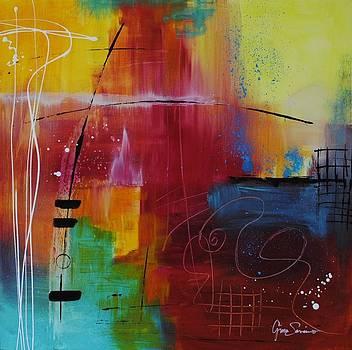 Abstract Fire by Gino Savarino