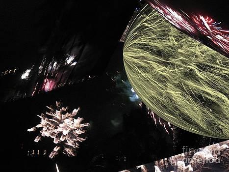 Abstract Firework - Ile De La Reunion - Reunion Island - Indian Ocean by Francoise Leandre