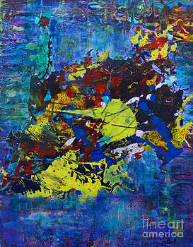 Claire Bull - Abstract Fish
