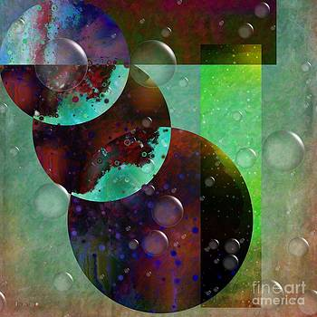 Liane Wright - Abstract - Floaters
