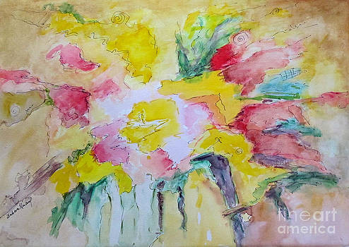 Abstract Floral by Barbara Anna Knauf