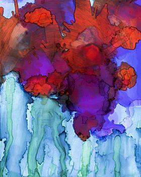 Priya Ghose - Abstract Flower Swirl
