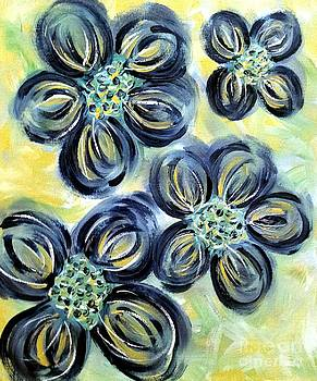 Abstract Flowers 3 by Lady Ex