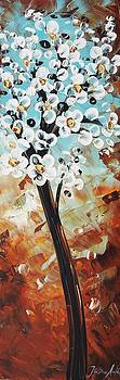 Abstract Flowers by Jolina Anthony