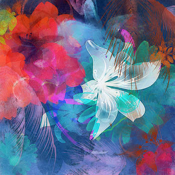 Abstract Flowers by Kiki Williams