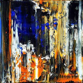 Abstract Fragments 40 by Carla Sa Fernandes