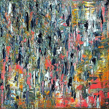 Abstract Fragments 43 by Carla Sa Fernandes