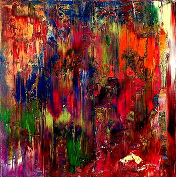 Abstract Fragments 44 by Carla Sa Fernandes