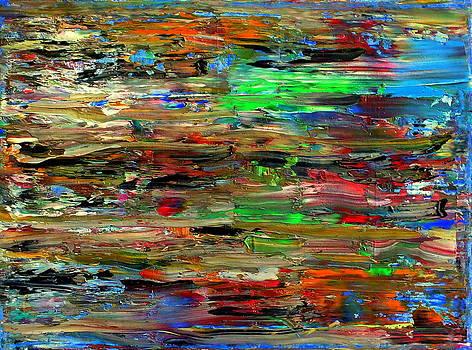 Abstract Fragments 47 by Carla Sa Fernandes