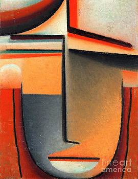Roberto Prusso - Abstract Head - Tragic