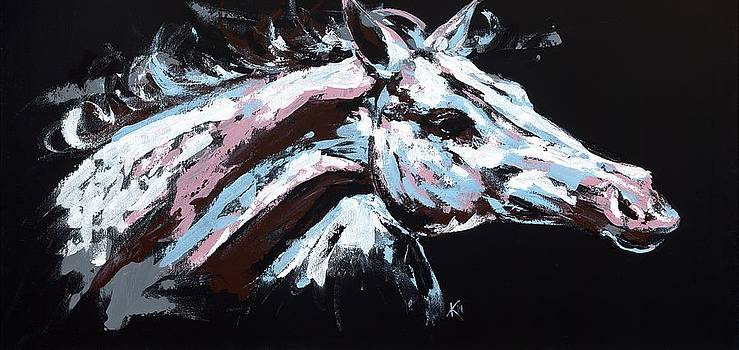 Abstract Horse by Konni Jensen