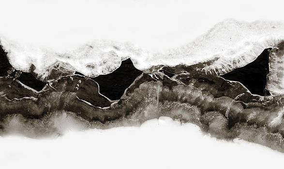 Marilyn Hunt - Abstract Ice 1
