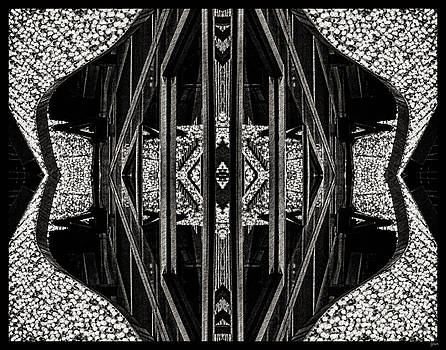Abstract In Black And White by Jeff Breiman